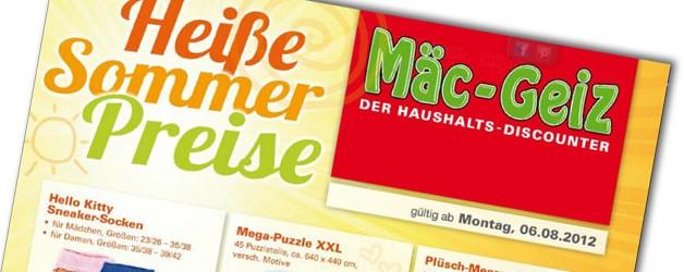 Echt Heisse Sommer Preise  bei Mäc-Geiz!